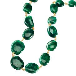 Toci Emerald Necklace