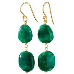 Toci Emerald Earrings