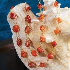 Sundrop Carnelian Necklace