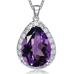 Purple Diamond<em>Aura</em>&reg; Paradise Pendant