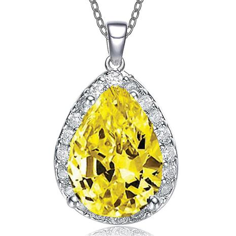 Paradise Pendant in Yellow
