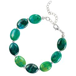 Earth & Sea Chrysocolla Bracelet