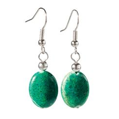Earth & Sea Chrysocolla Earrings
