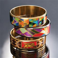 M Bangle Collection - All 3 Bracelets