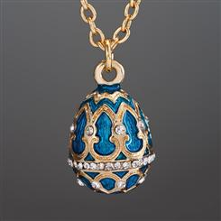 Imperial Egg Royal Blue Necklace