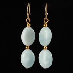 Cabo Aquamarine Earrings
