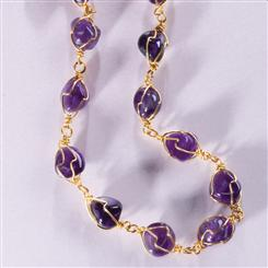 Liberte Amethyst Necklace