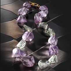 Chione Amethyst Necklace