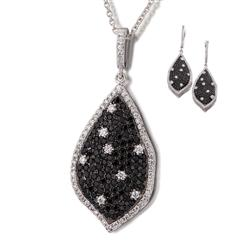 Stargazer DiamondAura® Necklace & Earrings Set