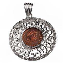 Imperial Roman Coin Pendant