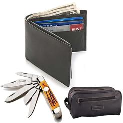 KNIFE WALLET & TRAVEL KIT SET