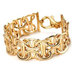 Arezzo Gold-Finished Bracelet