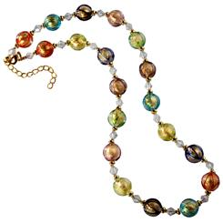 New Bohemia Glass Necklace
