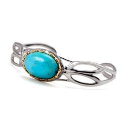 Templo Genuine Turquoise Bracelet