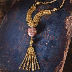 Milan Marsala Necklace