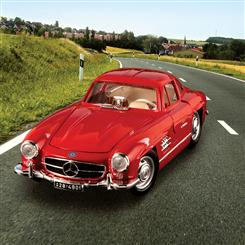 1954 Mercedes 300SL Gull Wing (Red)