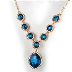 Blue Lola Necklace