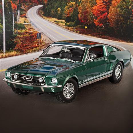1967 Ford Mustang GTA Fastback (Green) 29726 | Stauer.com