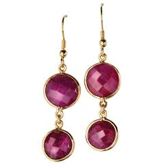 Romancing the Ruby Earrings