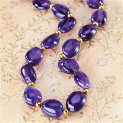 FREE Lusso Amethyst Necklace & $25 Stauer Discount Certificate