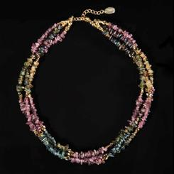 Chameleon Tourmaline Necklace