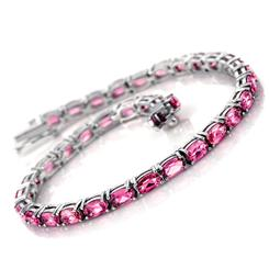 Perfectly Pink Tennis Bracelet