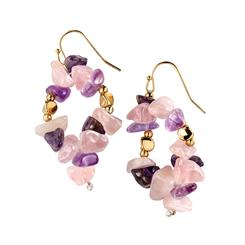 Outré Amethyst Earrings