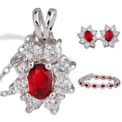 Diamond<em>Aura</em>&reg; Red Blossom Collection