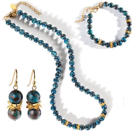 Entente Necklace, Bracelet & Earrings