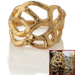 Limu Gold Ring & Bracelet Set