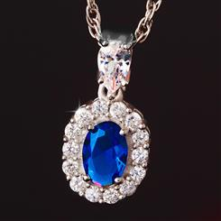 Blue Hope Pendant