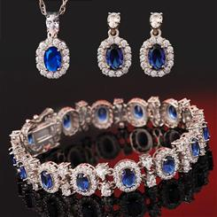 Blue Hope DiamondAura Collection