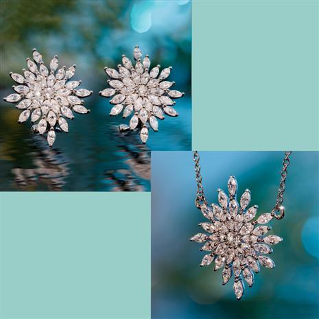 Stella DiamondAura Necklace & Earrings