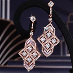 Lineate DiamondAura Earrings
