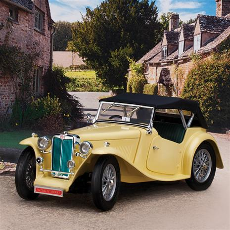 1947 MG TC Midget (cream)