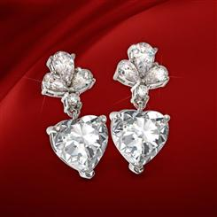 DiamondAura Sweetheart Earrings