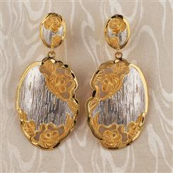 Rosa di Pizzo Earrings