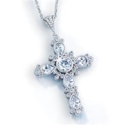 Divine Cross Pendant & Chain