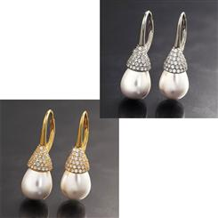Drop Pearl Earring Collection