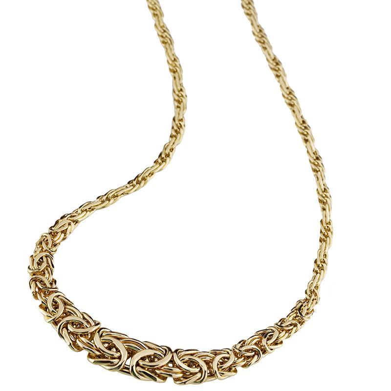 Aria Necklace (Yellow Gold over Sterling Silver)