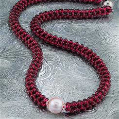 Affinity Garnet Collection Necklace