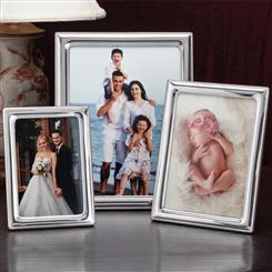 Italia Sterling Silver Frame Collection (set of 3)