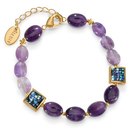 Amethyst Celebration Bracelet (70 ctw)