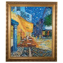 Caf Terrace at Night by Vincent van Gogh