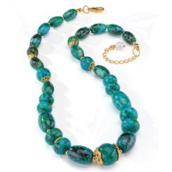 Natural Beauty Chrysocolla Necklace