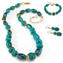 Natural Beauty Chrysocolla Complete Set
