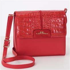 Fiamma Italian Leather Bag