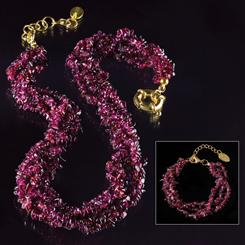 Garnets Galore Collection (necklace and bracelet)