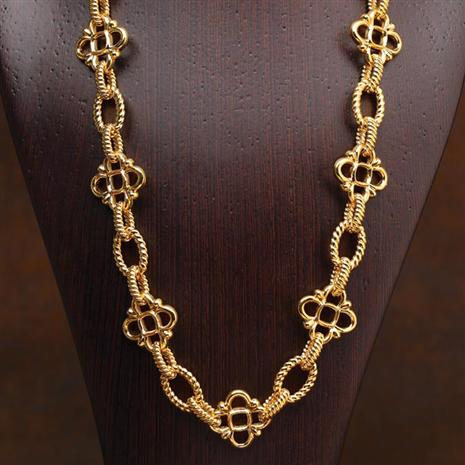 14K Italian Gold Eleanor Necklace