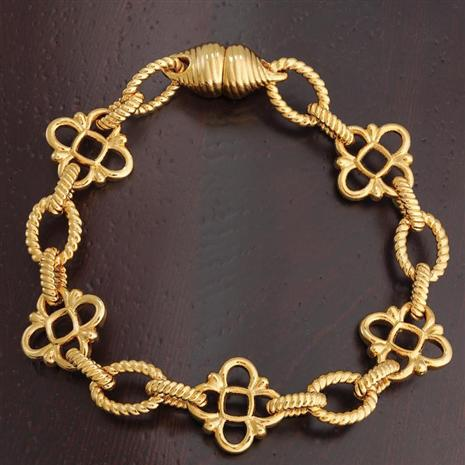 Italian Gold Eleanor Bracelet